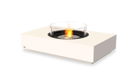 Martini 50 Tables extérieure - Ethanol / Bone / Optional Fire Screen by EcoSmart Fire