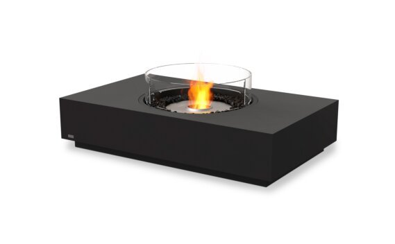 Martini 50 Tables extérieure - Ethanol / Graphite / Optional Fire Screen by EcoSmart Fire