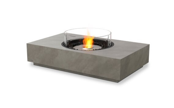 Martini 50 Tables extérieure - Ethanol / Natural / Optional Fire Screen by EcoSmart Fire