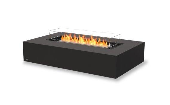 Wharf 65 Tables extérieure - Ethanol / Graphite / Optional Fire Screen by EcoSmart Fire
