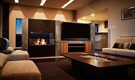 Nozomi Views Commercial Fireplaces Inserts de cheminée Idea