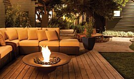 Private Residence Landscape Fireplaces Braseros éthanol Idea