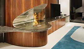 SAAJ Design Residential Fireplaces Brûleurs éthanol Idea