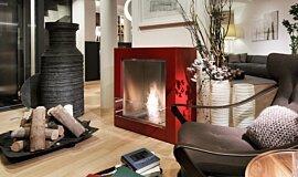 Merkmal Showroom Commercial Fireplaces Cheminées à poser Idea