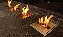 Long Room  Commercial Fireplaces Brûleurs éthanol Idea