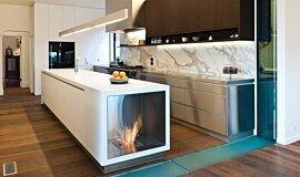 Celebrity Chef's Kitchen Favourite Fireplace Inserts de cheminée Idea