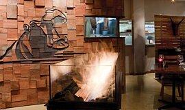 Hippo Creek African Grill Commercial Fireplaces Brûleurs éthanol Idea