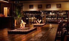 Restaurant La Cave Commercial Fireplaces Brûleurs éthanol Idea
