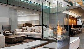 Nu Skin Innovation Centre Provo Commercial Fireplaces Brûleurs éthanol Idea