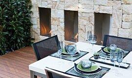 Melbourne International Flower and Garden Show Commercial Fireplaces Inserts de cheminée Idea