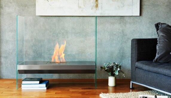 Merkmal Japan - Igloo Cheminées intérieure by EcoSmart Fire