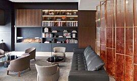 St Regis Hotel Bar Commercial Fireplaces Brûleurs éthanol Idea