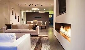Rising Glen Linear Fires Brûleurs éthanol Idea
