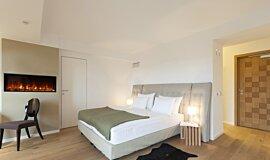 Hotel Room Hospitality Fireplaces Electric Fireplace Idea