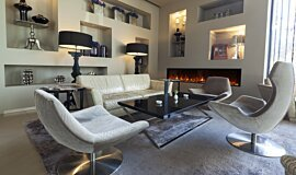Lobby Hospitality Fireplaces Electric Fireplace Idea