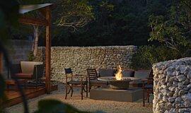 Okinawa Resort Commercial Fireplaces Braseros éthanol Idea