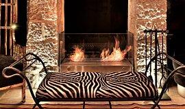 Villa Brown Jerusalem Hotel Commercial Fireplaces Cheminées à poser Idea
