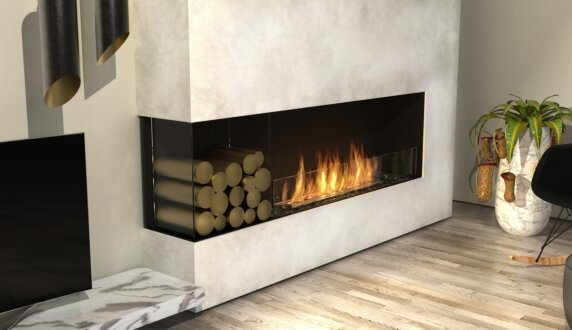 Living Room - Flex 68LC.BXL Série Flex by EcoSmart Fire