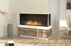 Flex 50RC Angle droit - In-Situ Image by EcoSmart Fire