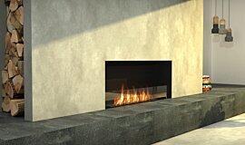 Living Area Linear Fires Simple face Idea