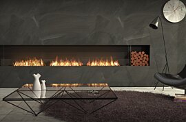 Flex 158SS.BX2 Simple face - In-Situ Image by EcoSmart Fire