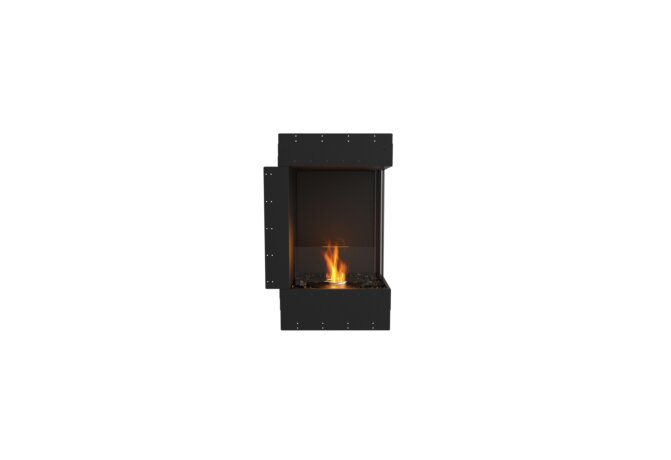 Flex 18RC Angle droit - Ethanol / Black / Uninstalled View by EcoSmart Fire