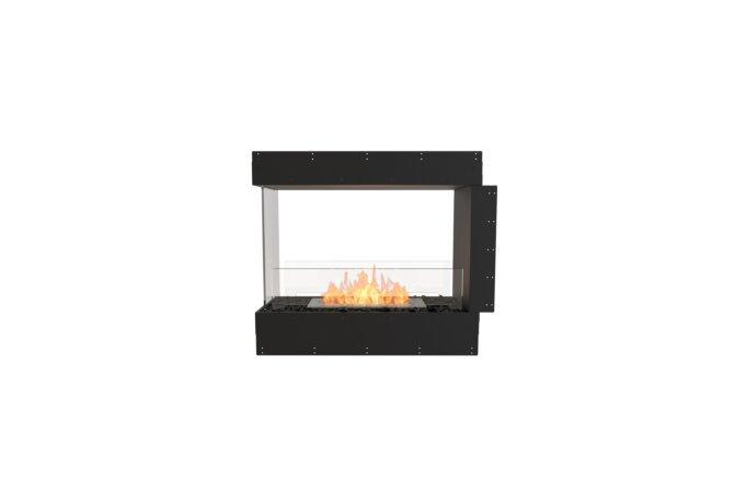 Flex 32PN Péninsule (trois faces) - Ethanol / Black / Uninstalled View by EcoSmart Fire