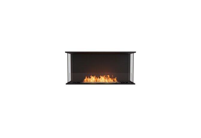 Flex 42 - Ethanol / Black / Installed View by EcoSmart Fire