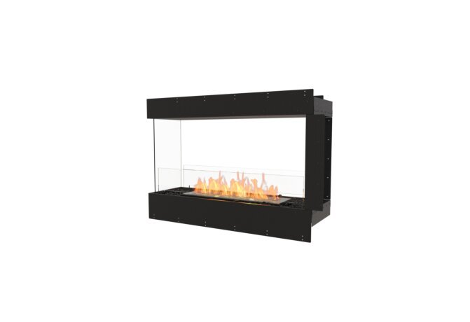 Flex 42PN Péninsule (trois faces) - Ethanol / Black by EcoSmart Fire