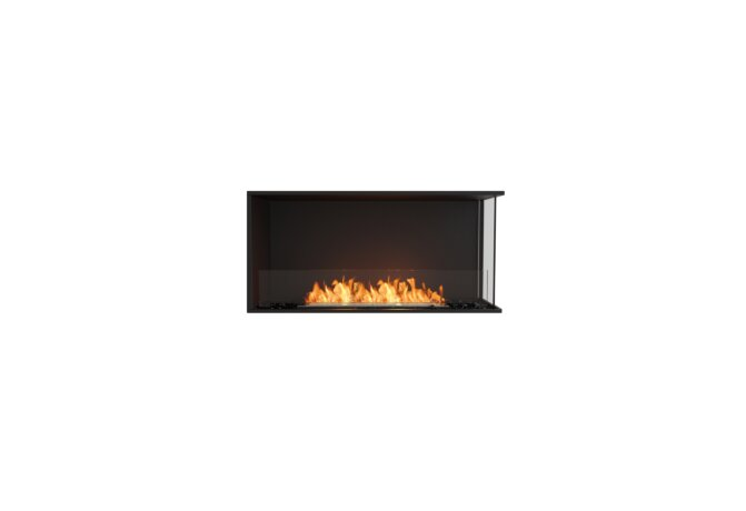 Flex 42RC Angle droit - Ethanol / Black / Installed View by EcoSmart Fire