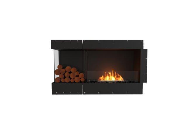 Flex 50LC.BXL Angle gauche - Ethanol / Black / Uninstalled View by EcoSmart Fire