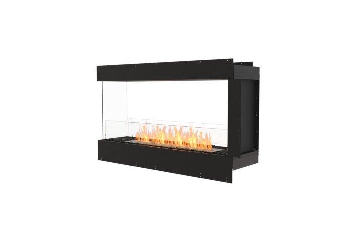 Flex 50PN Péninsule (trois faces) - Ethanol / Black / Uninstalled View by EcoSmart Fire