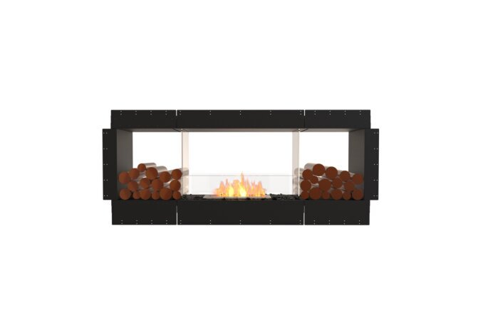 Flex 68DB.BX2 Double face - Ethanol / Black / Uninstalled View by EcoSmart Fire