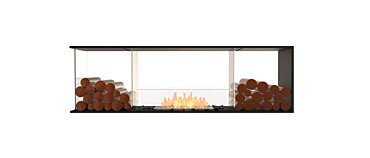 Flex 68PN.BX2 Péninsule (trois faces) Fireplace - Studio Image by EcoSmart Fire