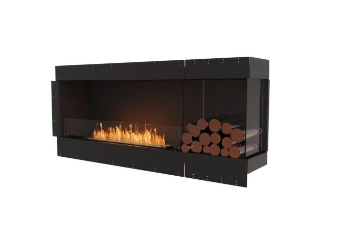 Flex 68RC.BXR Angle droit - Ethanol / Black / Uninstalled View by EcoSmart Fire