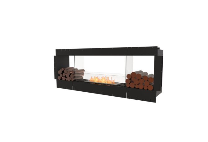 Flex 78DB.BX2 Double face - Ethanol / Black / Uninstalled View by EcoSmart Fire