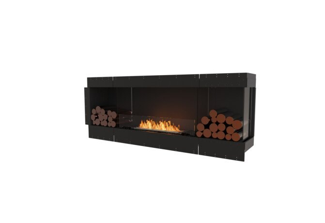 Flex 78RC.BX2 Angle droit - Ethanol / Black / Uninstalled View by EcoSmart Fire
