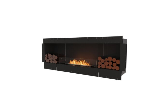 Flex 78SS.BX2 Simple face - Ethanol / Black / Uninstalled View by EcoSmart Fire