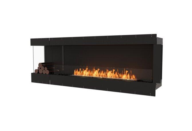 Flex 86LC.BXL Angle gauche - Ethanol / Black / Uninstalled View by EcoSmart Fire