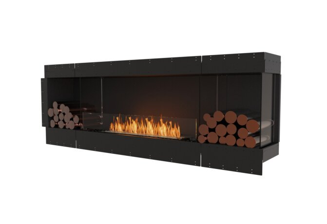 Flex 86RC.BX2 Angle droit - Ethanol / Black / Uninstalled View by EcoSmart Fire