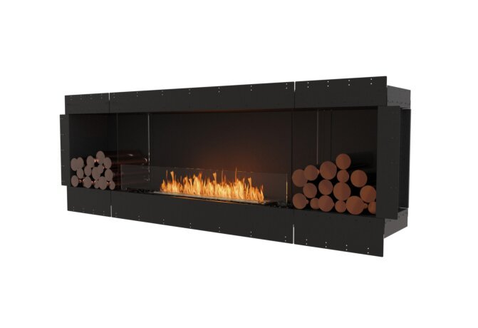 Flex 86SS.BX2 Simple face - Ethanol / Black / Uninstalled View by EcoSmart Fire
