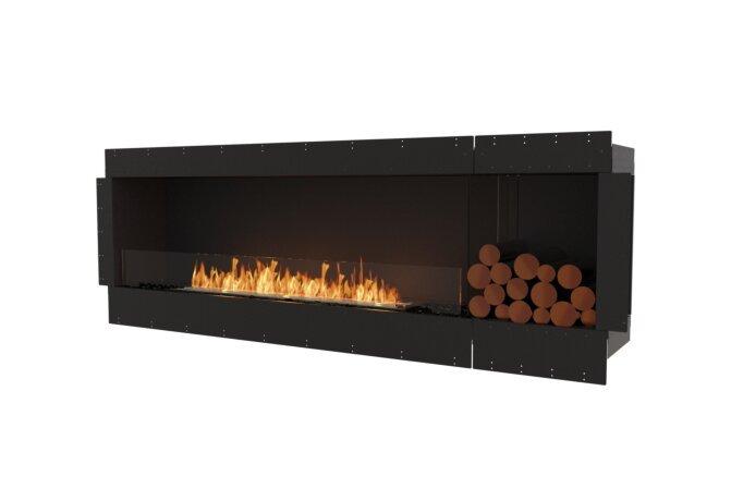 Flex 86SS.BXR Simple face - Ethanol / Black / Uninstalled View by EcoSmart Fire