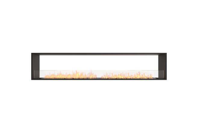 Flex 104DB Double face - Ethanol / Black / Installed View by EcoSmart Fire