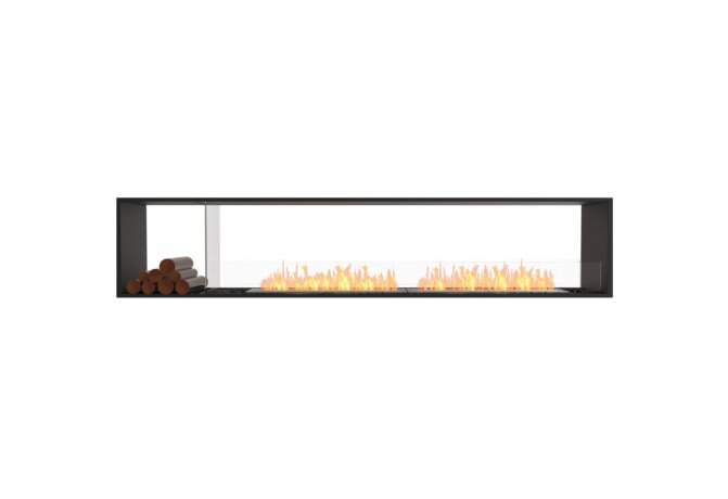 Flex 104DB.BX1 Double face - Ethanol / Black / Installed View by EcoSmart Fire