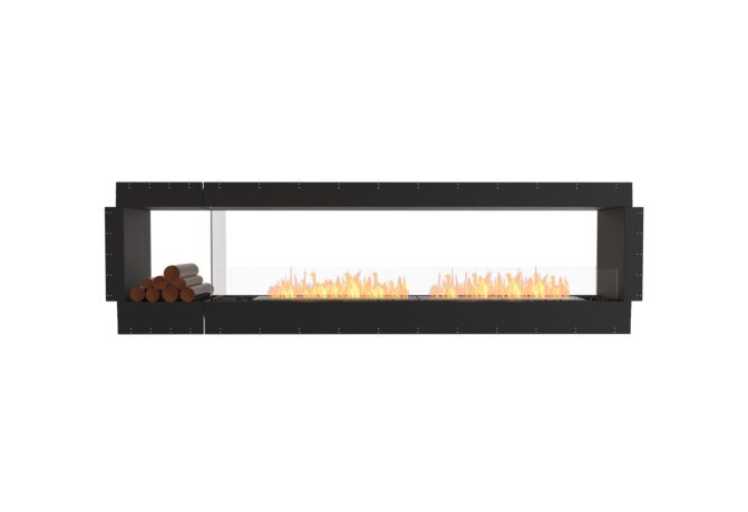 Flex 104DB.BX1 Double face - Ethanol / Black / Uninstalled View by EcoSmart Fire