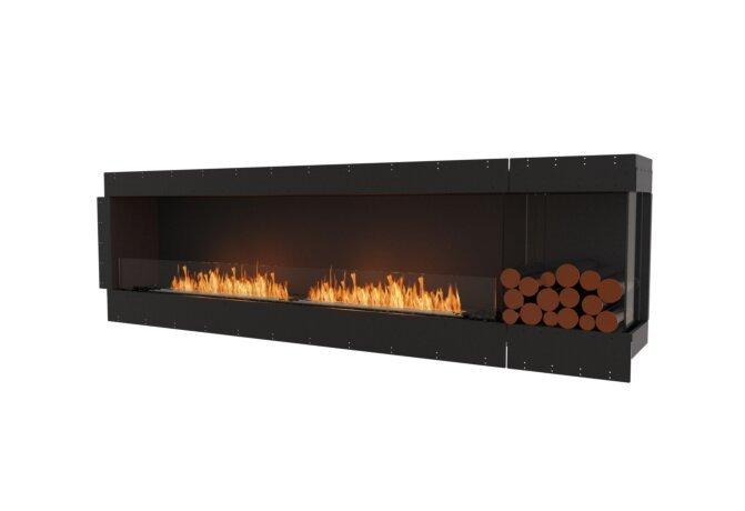 Flex 104RC.BXR Angle droit - Ethanol / Black / Uninstalled View by EcoSmart Fire