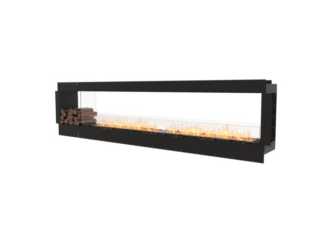 Flex 122DB.BX1 Double face - Ethanol / Black / Uninstalled View by EcoSmart Fire