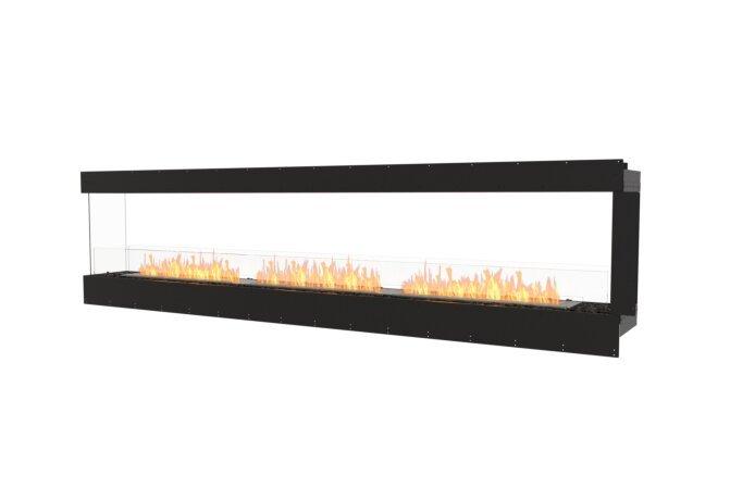 Flex 122PN Péninsule (trois faces) - Ethanol / Black / Uninstalled View by EcoSmart Fire