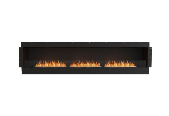 Flex 122SS Simple face - Ethanol / Black / Uninstalled View by EcoSmart Fire