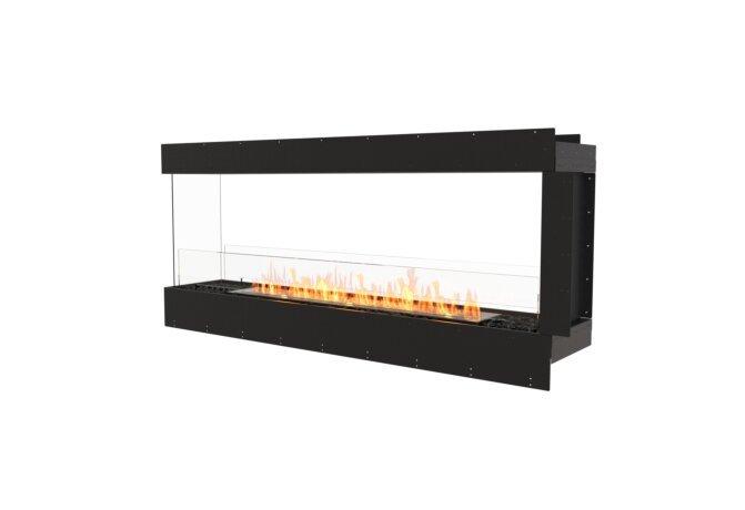Flex 68PN Péninsule (trois faces) - Ethanol / Black / Uninstalled View by EcoSmart Fire
